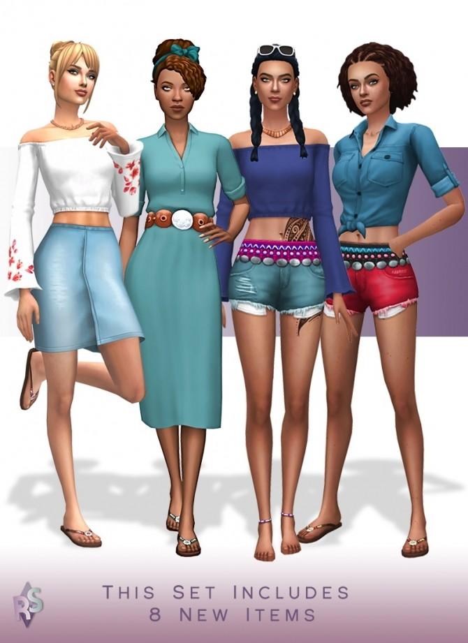 Summer set at RENORASIMS image 11910 670x921 Sims 4 Updates