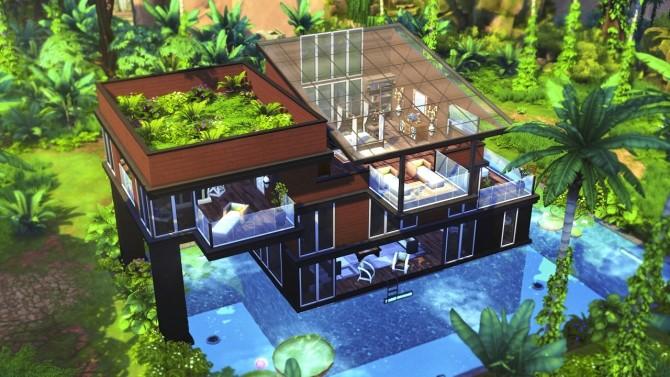 MODERN JUNGLE GETAWAY at BERESIMS image 1203 670x377 Sims 4 Updates