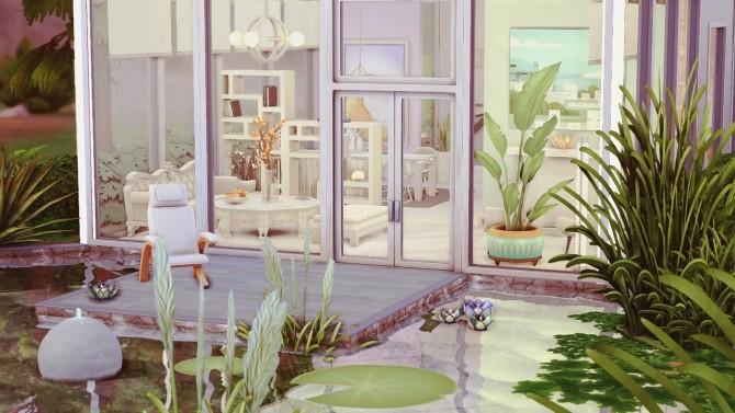 Sims 4 Glass Lake Cubism at Miss Ruby Bird