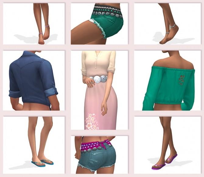 Summer set at RENORASIMS image 1209 670x581 Sims 4 Updates