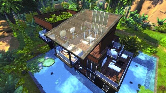 MODERN JUNGLE GETAWAY at BERESIMS image 12110 670x377 Sims 4 Updates