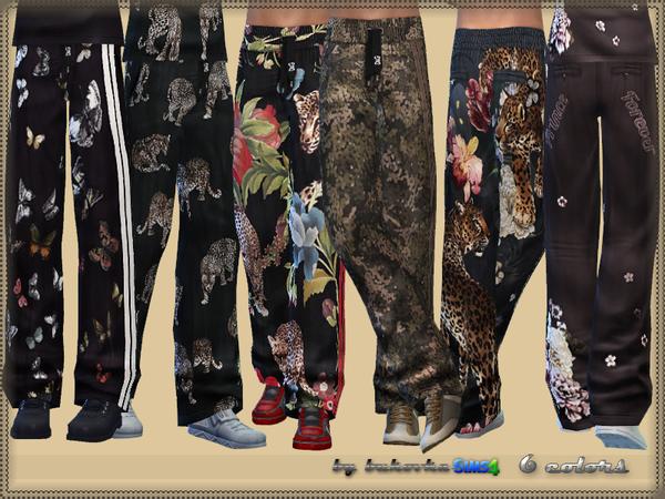 Sims 4 Pants Male by bukovka at TSR