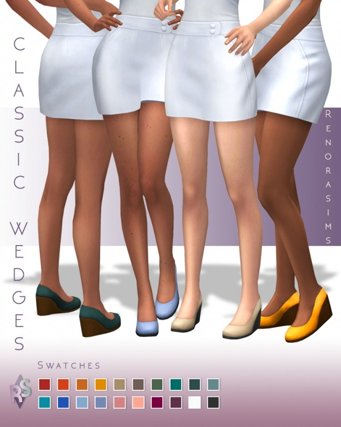 Classic wedges at RENORASIMS image 12212 670x838 Sims 4 Updates