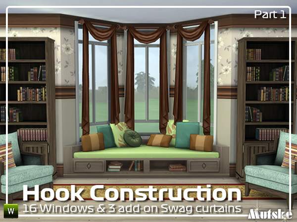 Hook Constructionset Part 1 by mutske at TSR image 12313 Sims 4 Updates