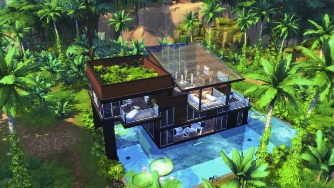 MODERN JUNGLE GETAWAY at BERESIMS image 1263 670x377 Sims 4 Updates