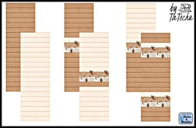 Wood Wall at TaTschu`s Sims4 CC image 1285 670x436 Sims 4 Updates