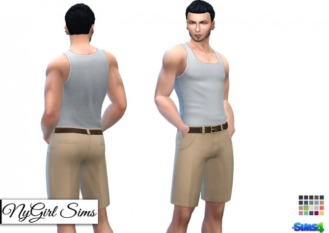 Pleated Chinos with Belt at NyGirl Sims image 1303 670x474 Sims 4 Updates