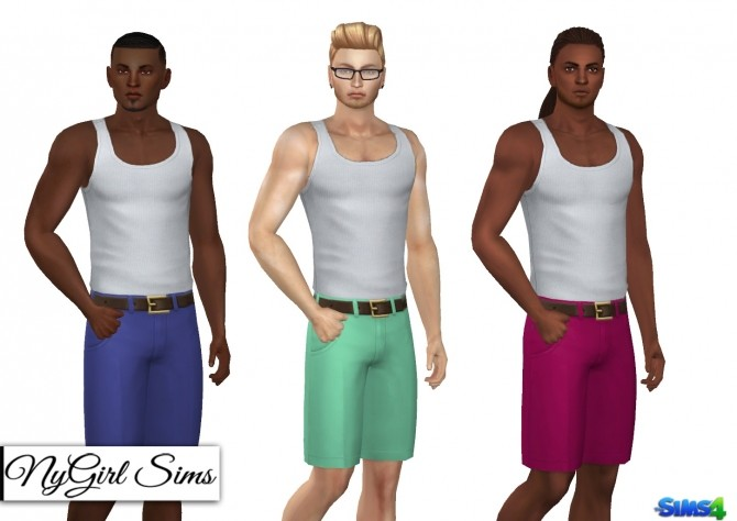 Pleated Chinos with Belt at NyGirl Sims image 13110 670x474 Sims 4 Updates