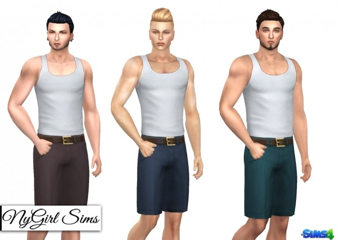 Pleated Chinos with Belt at NyGirl Sims image 1324 670x474 Sims 4 Updates