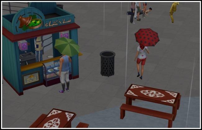 Sims 4 More Umbrella Variations In World (Seasons EP) at LittleMsSam