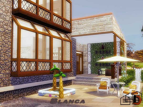 Sims 4 Blanca house by Danuta720 at TSR