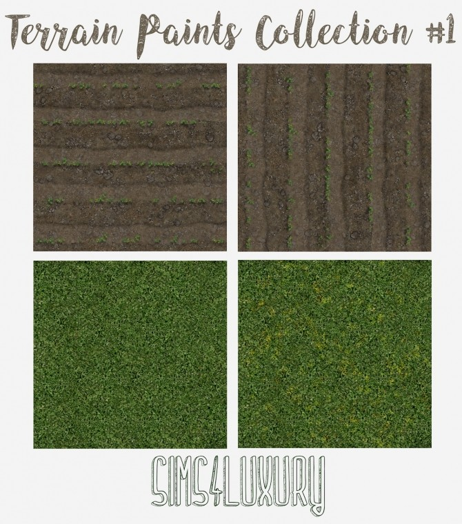 Sims 4 Terrain Paint Collection #1 at Sims4 Luxury