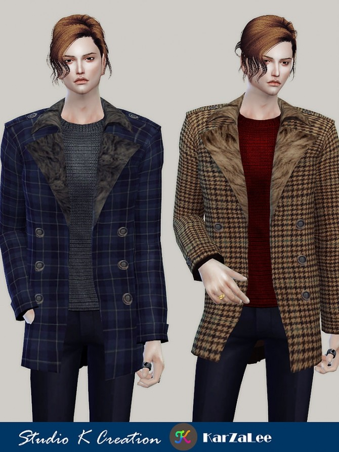 Giruto 61 Casual Jackets top at Studio K Creation image 1393 670x893 Sims 4 Updates