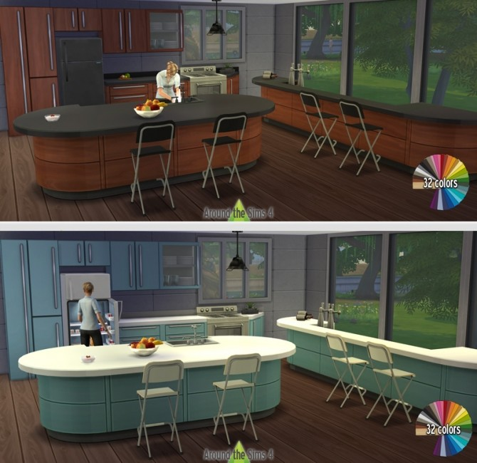Harbinger counters recolors by Sandy at Around the Sims 4 image 1394 670x650 Sims 4 Updates