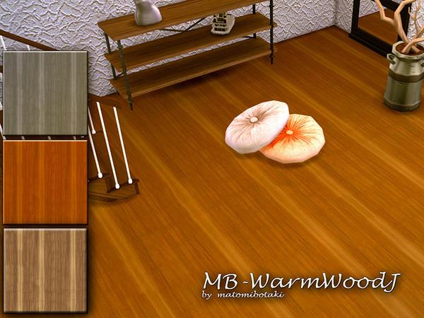 Sims 4 MB Warm Wood J floor by matomibotaki at TSR
