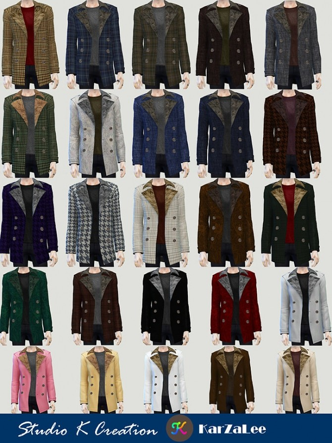 Giruto 61 Casual Jackets top at Studio K Creation image 1403 670x893 Sims 4 Updates