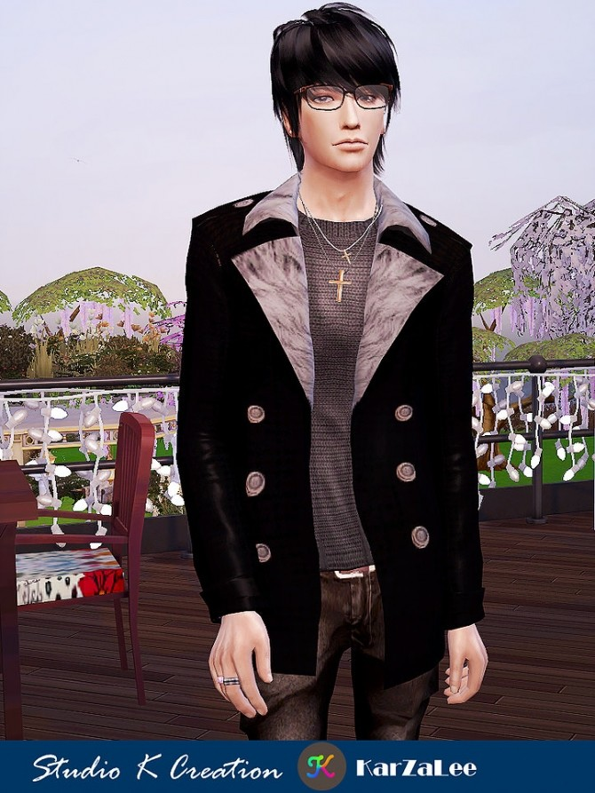 Giruto 61 Casual Jackets top at Studio K Creation image 14110 670x893 Sims 4 Updates