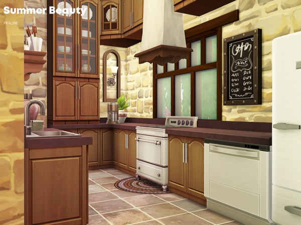 Summer Beauty house by Pralinesims at TSR image 1416 Sims 4 Updates