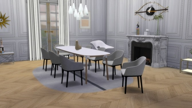 Sims 4 SOFTSHELL CHAIR at Meinkatz Creations