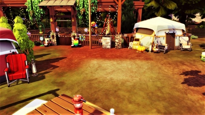 Sims 4 Family Rustic CAMP at Agathea k