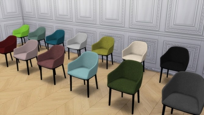 SOFTSHELL CHAIR at Meinkatz Creations image 1433 670x377 Sims 4 Updates
