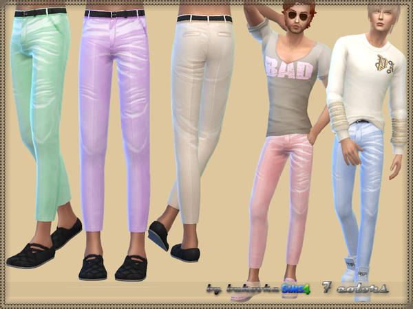 Sims 4 Pants Satin M by bukovka at TSR