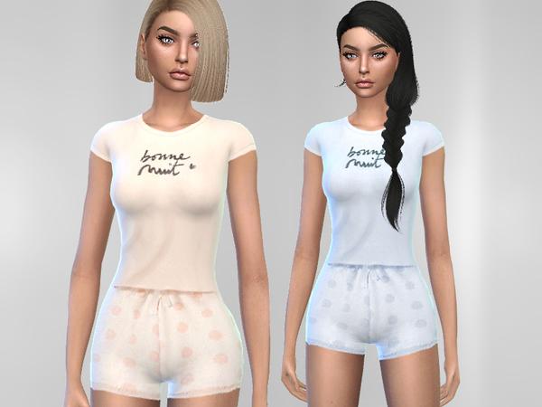 Summer Pajama by Puresim at TSR image 1439 Sims 4 Updates
