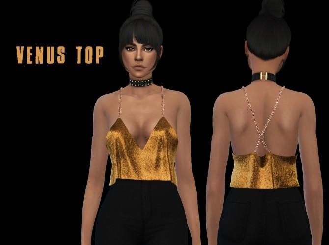 Sims 4 Venus top at Leo Sims