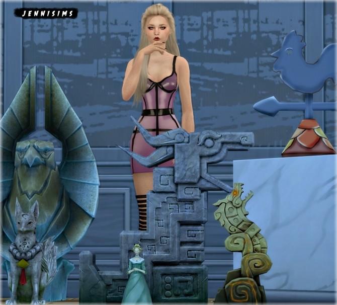 Statues Dragon 6 Items at Jenni Sims image 1481 670x606 Sims 4 Updates