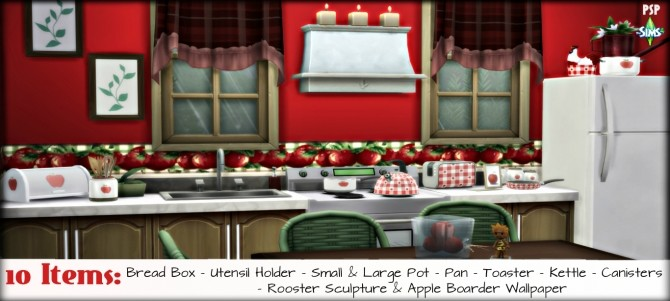 Country Apple SET at Pandasht Productions image 1495 670x301 Sims 4 Updates