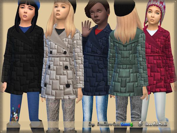 Child Coat by bukovka at TSR image 1498 Sims 4 Updates