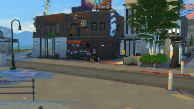 Bayview Cafe at ShojoAngel image 1503 670x377 Sims 4 Updates