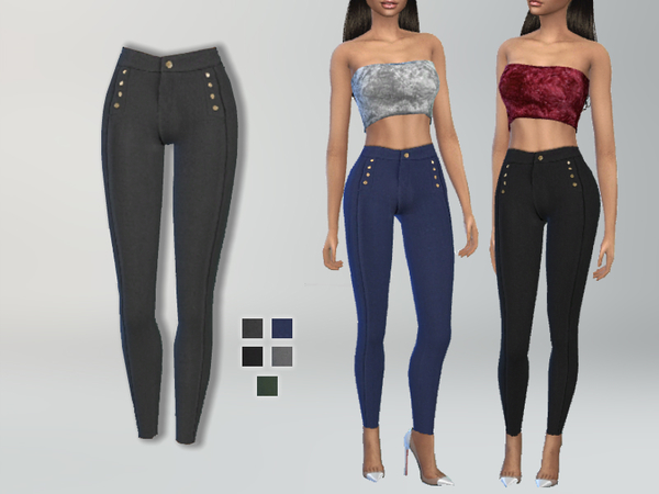Skinny Fit Pants by Puresim at TSR image 15211 Sims 4 Updates