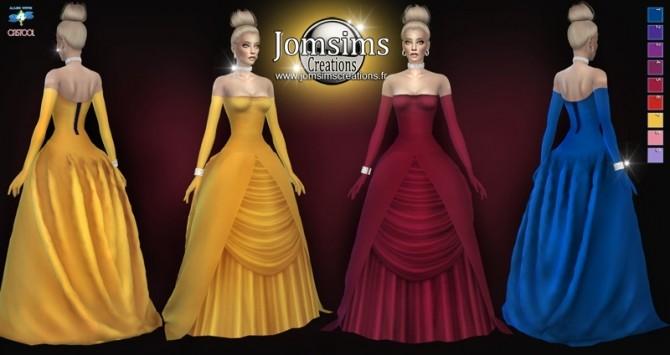 Sims 4 AREDREEVA dress at Jomsims Creations