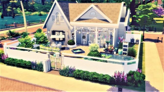 Magnolia street house at Agathea k image 1542 670x377 Sims 4 Updates