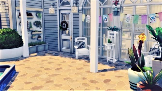 Sims 4 Magnolia street house at Agathea k