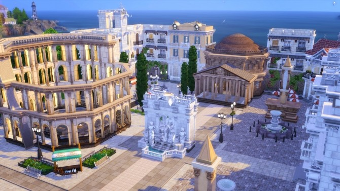 Sims 4 Little Rome Italy at Akai Sims – kaibellvert