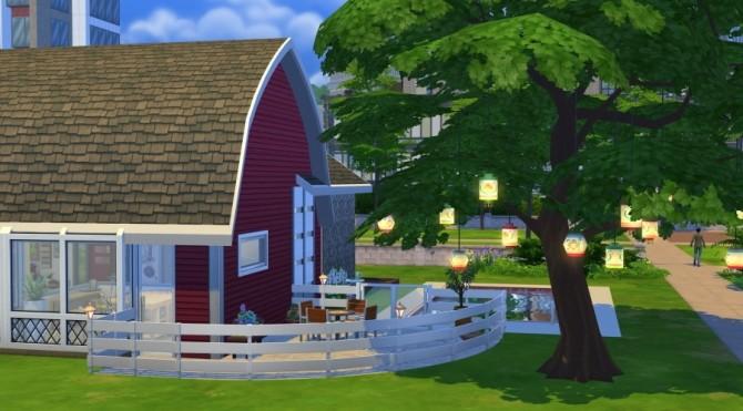Sims 4 Renovated barn by Fuyaya at Sims Artists
