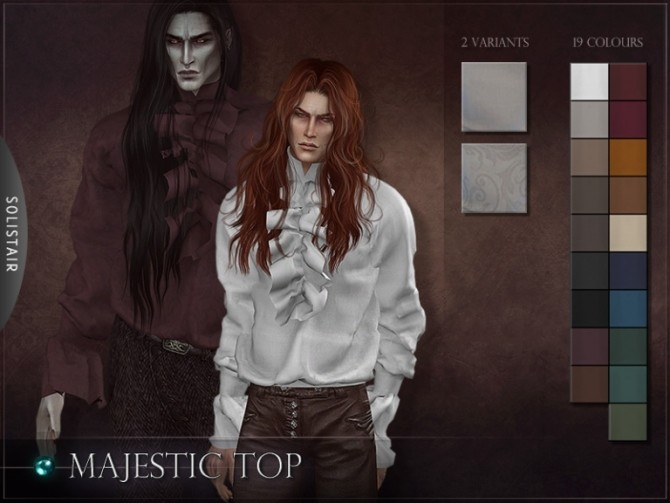 Majestic Top collab w/ RemusSims at Solistair image 1597 670x503 Sims 4 Updates