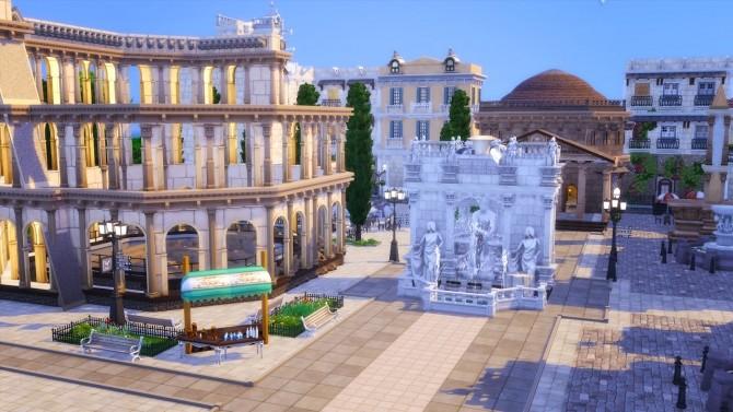 Little Rome Italy at Akai Sims – kaibellvert image 1603 670x377 Sims 4 Updates