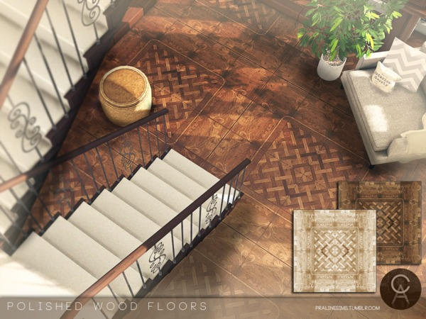 Polished Wood Floors by Pralinesims at TSR image 1619 Sims 4 Updates