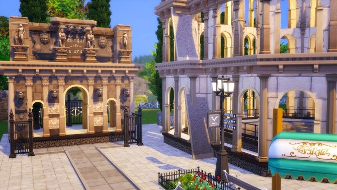 Little Rome Italy at Akai Sims – kaibellvert image 1623 670x377 Sims 4 Updates