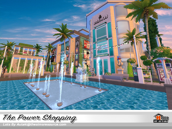 The Power Shopping by autaki at TSR image 1637 Sims 4 Updates