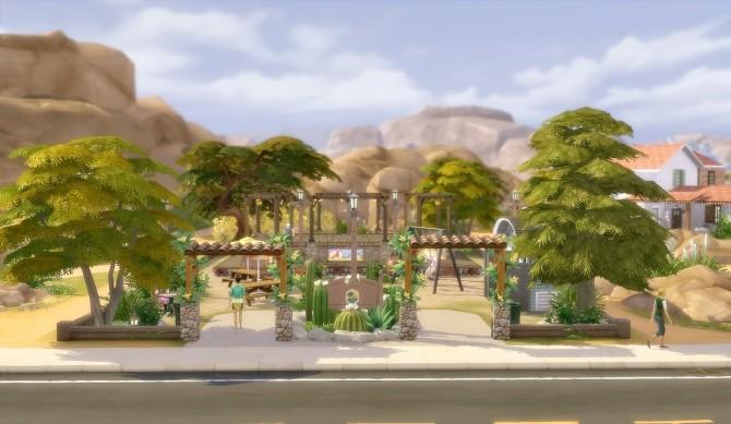 Suburban Park Oasis Springs at Via Sims image 1645 670x389 Sims 4 Updates
