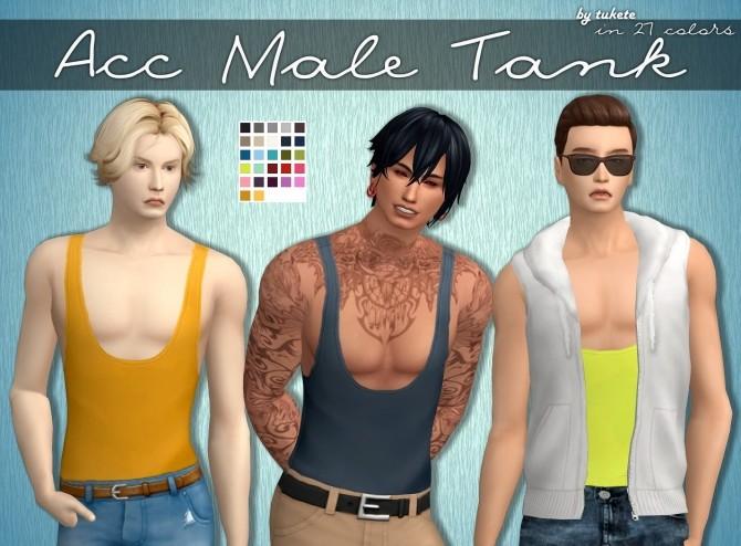 Acc Male Tank at Tukete image 1654 670x494 Sims 4 Updates