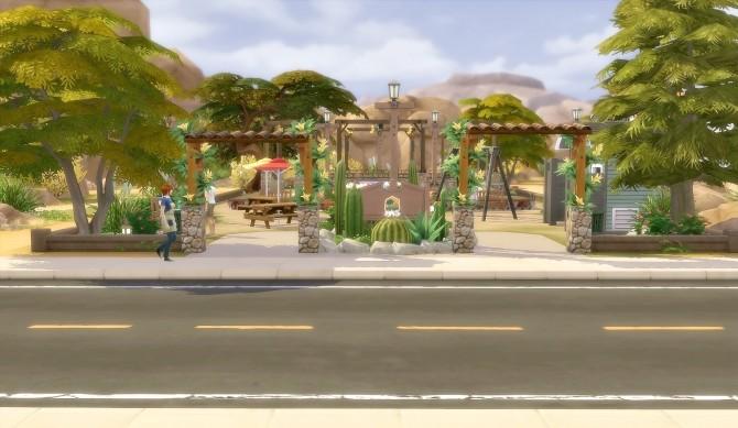 Suburban Park Oasis Springs at Via Sims image 1665 670x389 Sims 4 Updates