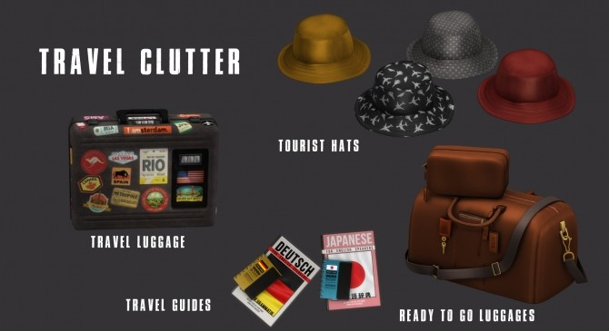 Travel clutter (P) at Leo Sims image 1671 670x365 Sims 4 Updates