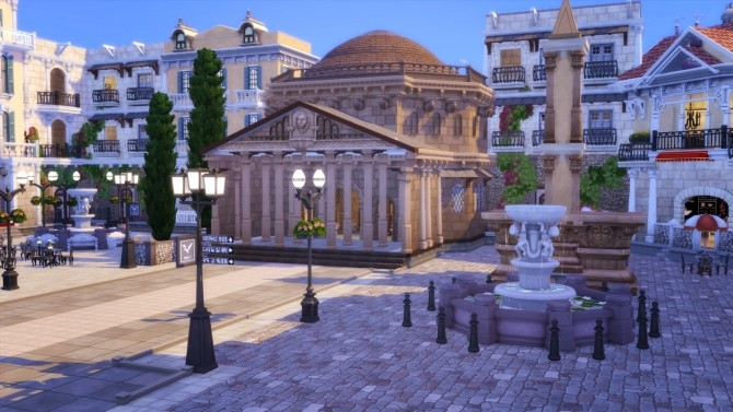 Little Rome Italy at Akai Sims – kaibellvert image 1673 670x377 Sims 4 Updates