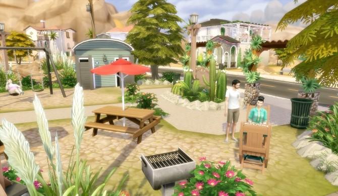 Suburban Park Oasis Springs at Via Sims image 1675 670x389 Sims 4 Updates