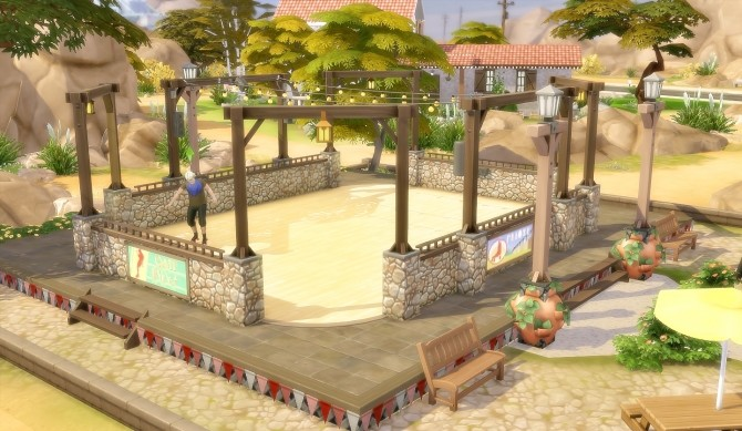 Suburban Park Oasis Springs at Via Sims image 1683 670x389 Sims 4 Updates